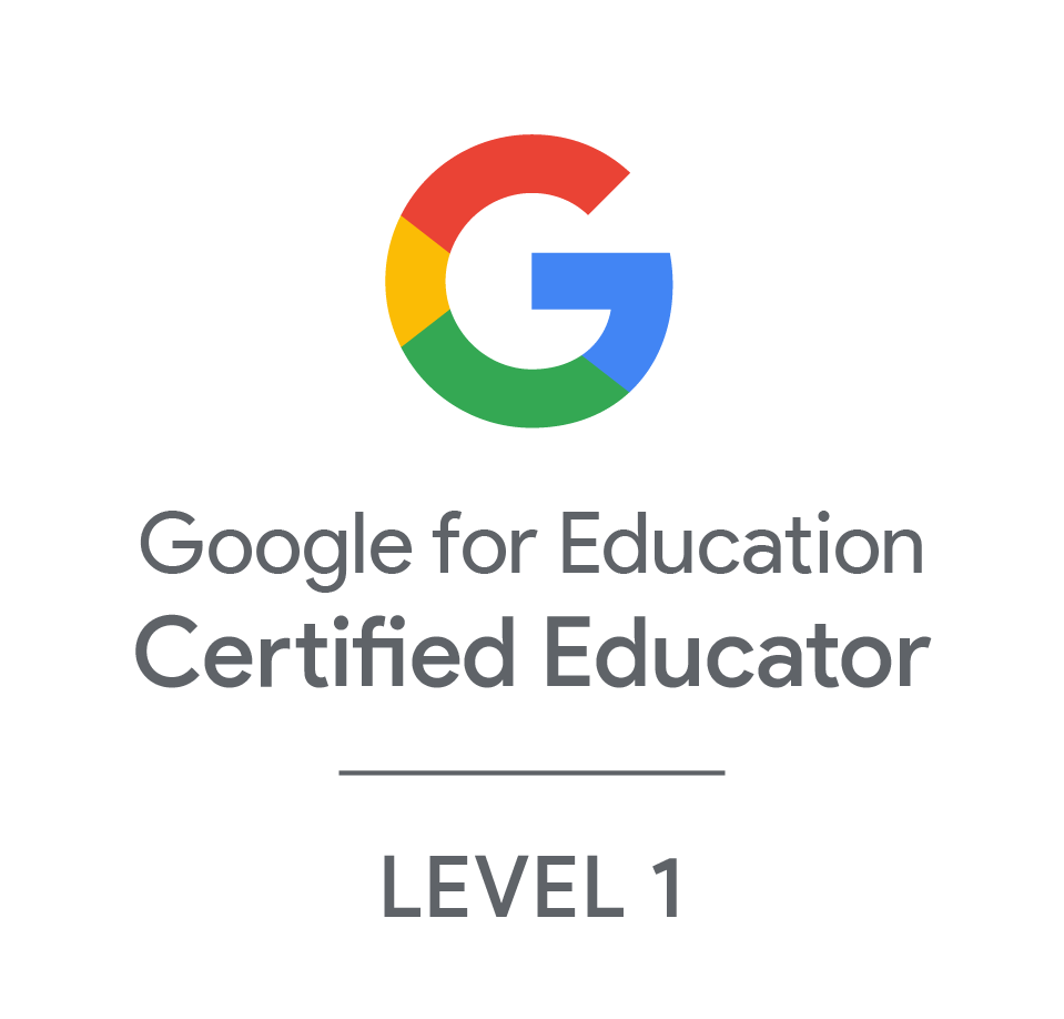 Google for Education Certified Educator Level 1