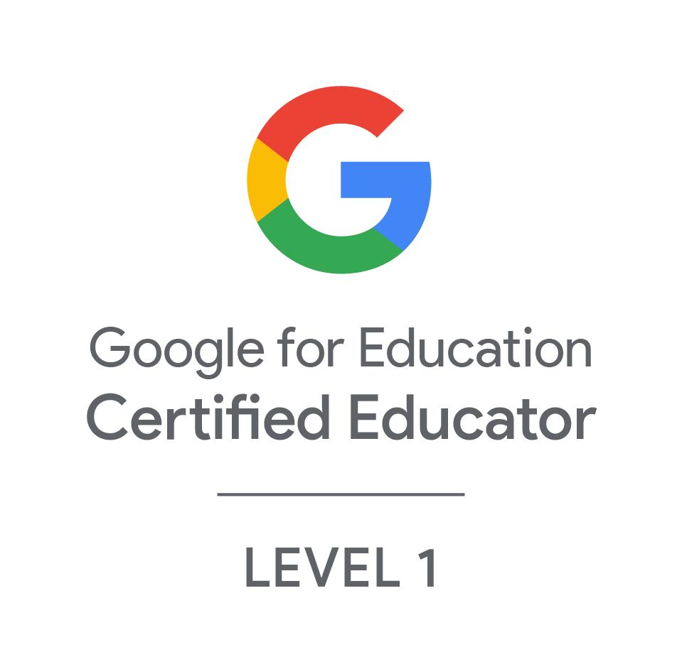 Google for Education Certified Educator Level 1